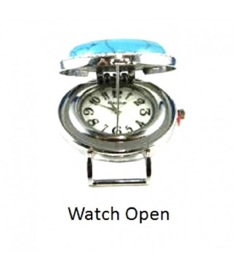 Gemstone Ribbon Watch Face...