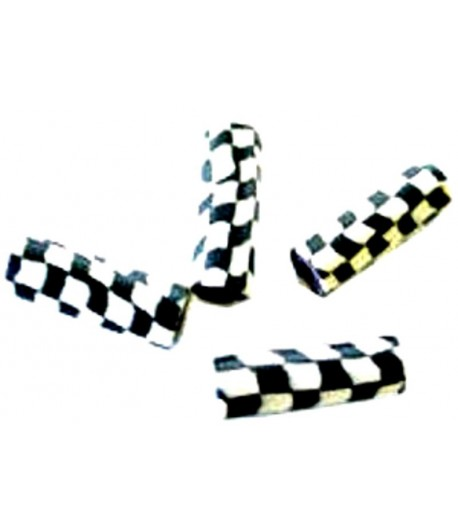 18x7mm Checkered Flag Fimo