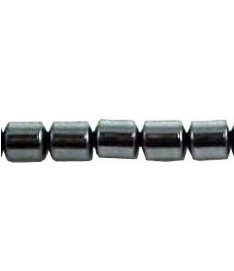 5x4mm Hematite Drums -...
