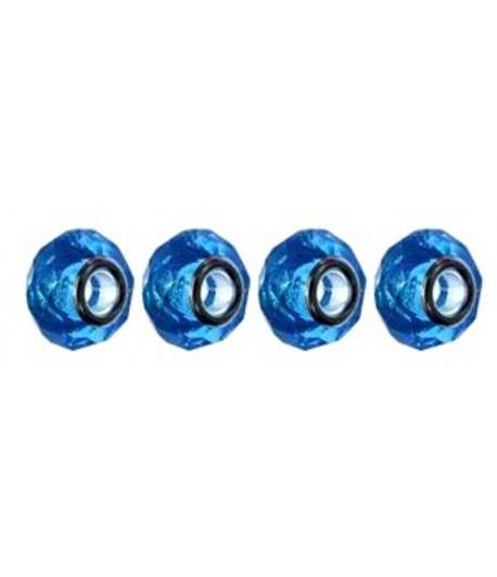 14x10x5mm Hole aqua Glass...
