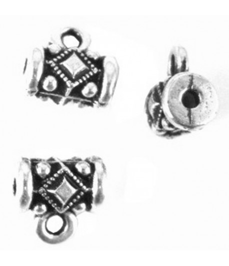 8mm Ornate Charm Hanger -...