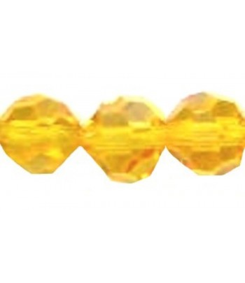 Yellow Gold Faceted Thunder...