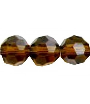 Med Smoked Topaz Faceted...