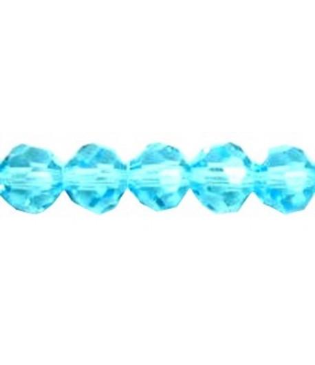 Light Aquamarine Faceted...