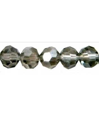 Silver Grey Faceted Thunder...