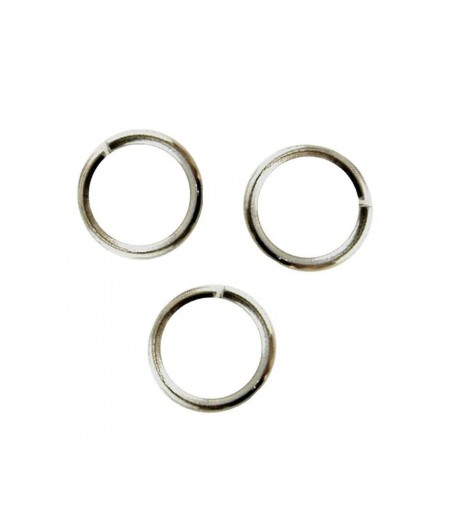 6.5mm OD 5mm ID Jump Rings...