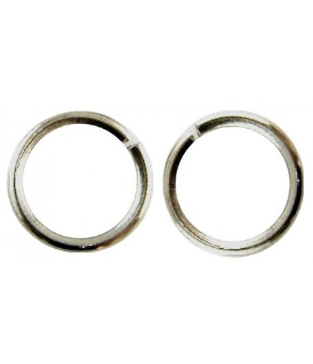 10mm OD 8mm ID Jump Rings -...