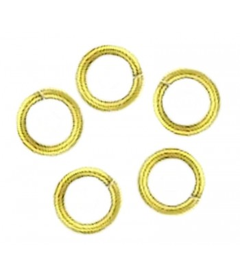 6mm OD 4.5mm ID Antq Gold...