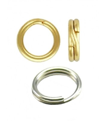 6mm OD 4mm ID Split Rings -...