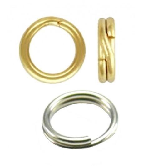 7mm OD 5.5mm ID Split Rings...