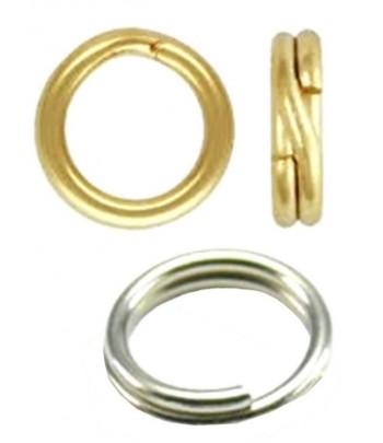 8mm OD 6.5mm ID Split Rings...