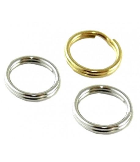 9mm OD 7mm ID Split Rings -...