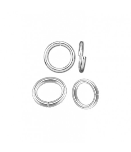 4mm OD 2mm ID Sterling...