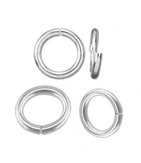 6mm OD 4mm ID Sterling...