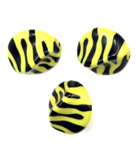 23x18mm Black and Yellow...