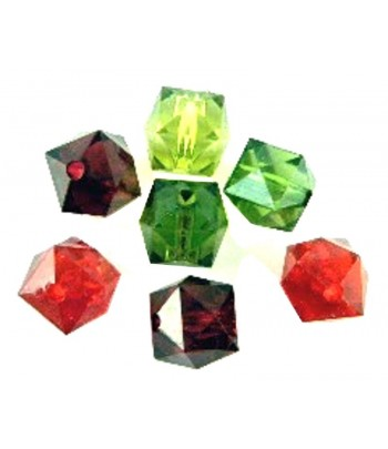 14mm Acrylic Faceted Cube...