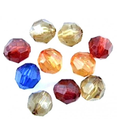 10x13mm Acrylic Faceted...