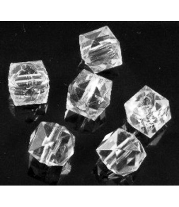 10mm Acrylic Faceted Cubes...