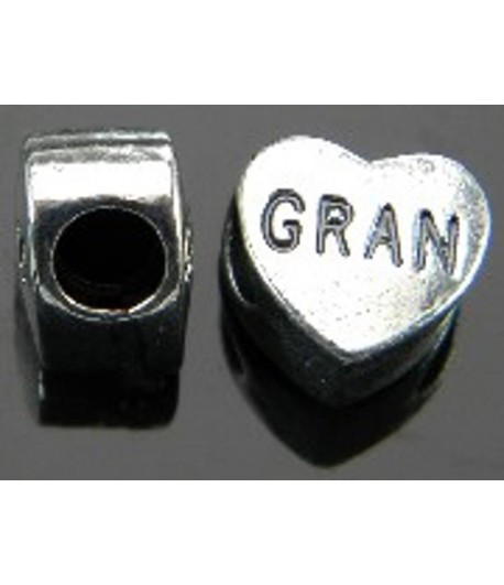 10mm w/5mm Hole Gran Heart...