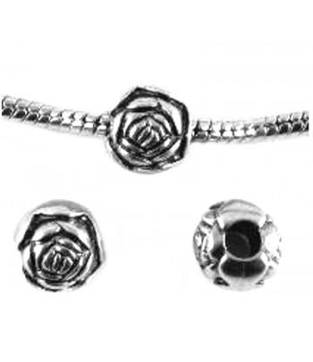 8mm w/3mm Hole Rose...