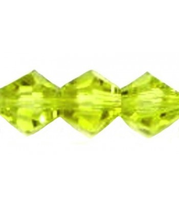 4mm or 6mm Lime Faceted...