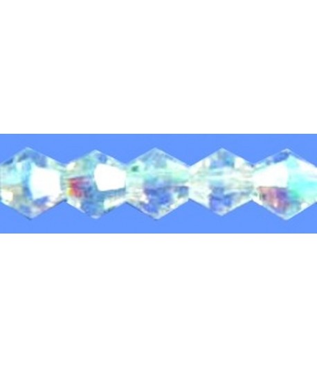 4mm or 6mm Crystal Faceted...