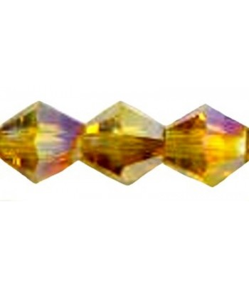 4mm or 6mm Topaz Faceted...