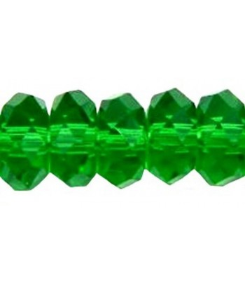 8x4mm Green Faceted...