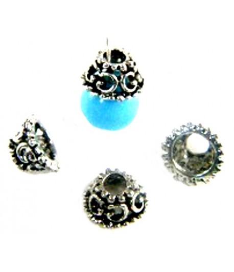 Metal Bead Caps - BM0064 -...