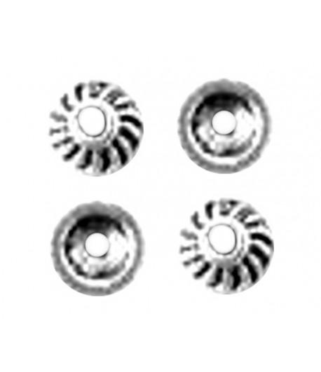 Metal Bead Caps - Jen424 -...