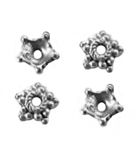 Metal Bead Caps - Q1081 -...