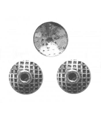 10mm Metal Bead Caps -...