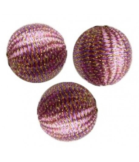 20mm Silk Beads - C - Qty 5