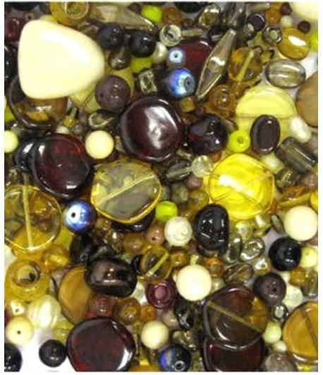 Brown Shades Bead Mix - G24...