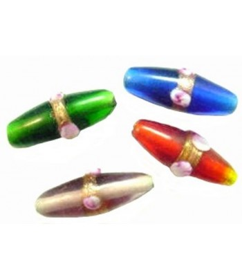 24x9mm Oval Glass w/Band...