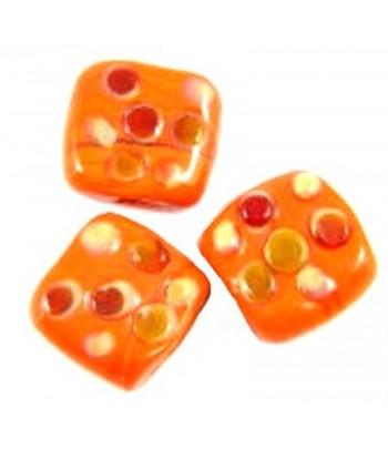 18mm Orange w/Multi-Colored...
