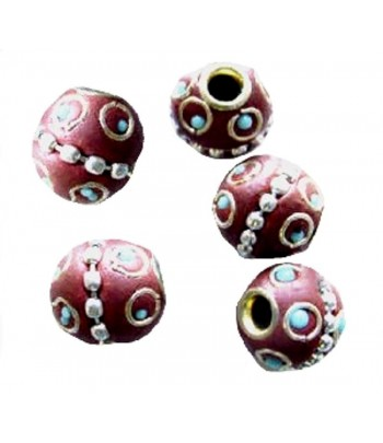 12mm Round Beads - K07A -...
