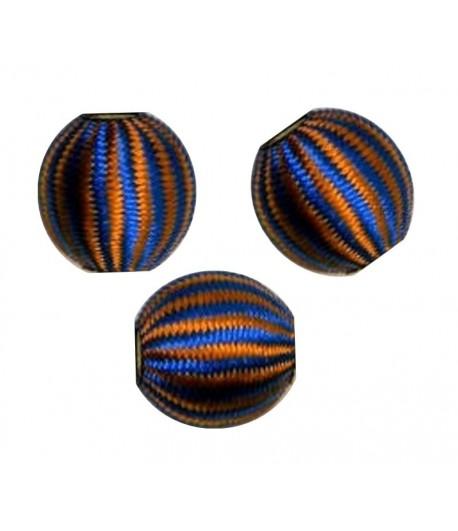 15mm Silk Beads  - K - Qty 5