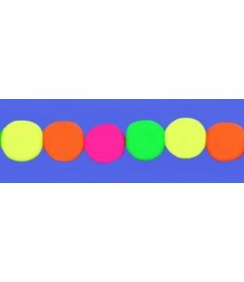 8mm Bright Neon Czech Glass...