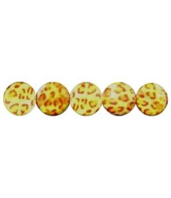 20mm Leopard Print Discs -...