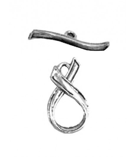 8mm ID  Antique Silver...