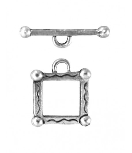 12mm ID Square Toggle Clasp...