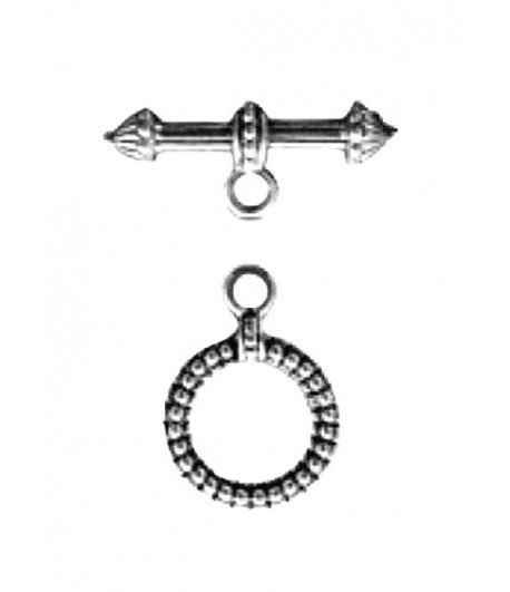 9mm ID Round Toggle Clasp -...