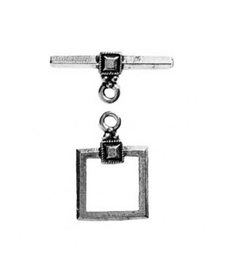 9mm ID Square Toggle Clasp...