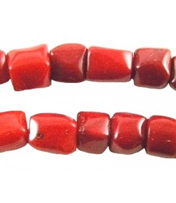 9x8mm Bamboo Coral Nugget...