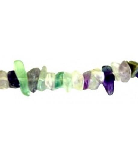 Rainbow Fluorite Chips -...