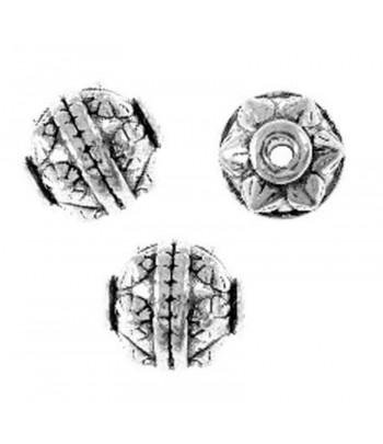 10x11mm Bali Designed Metal...