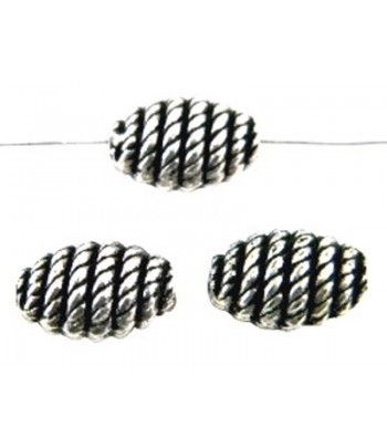 16x11mm Metalized Oval Rope...