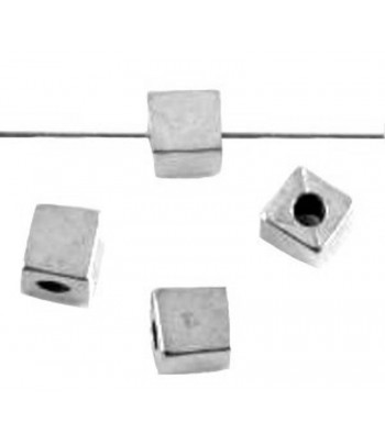 4mm Metalized Cubes - Qty 100