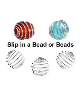 20x18mm  Spiral Bead Cages...